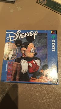 Disney Mickey Mouse 1000 puzzle box