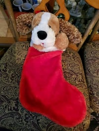 Singing dog stocking