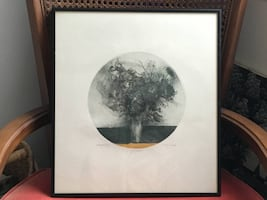 "Jack Coughlin Artist's Proof ""Bouquet"" Drawing - Signed in Pencil"