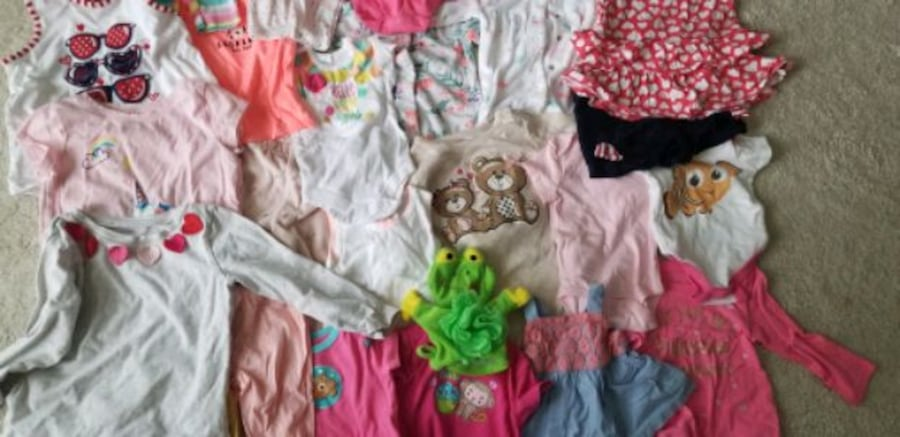 Baby to toddler girl clothes. Sizes from newborn t f4df5ffc-e314-401a-9045-5abc77efe293
