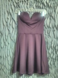 PURPLE STRAPLESS DRESS Wichita, 67203