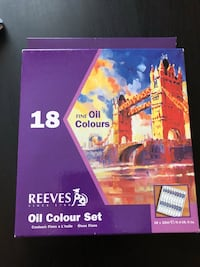 Oil paints,