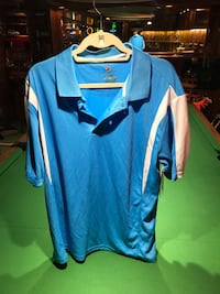 Men's Sport Shirt XL by Firethorn $5.00 Blue & White Edmonton, T6L 4G9