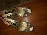 Nino new york vintage gold sequin size6.5 Redding, 96002