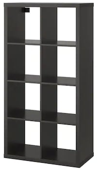 "KALLAX Shelf unit, black-brown, 30 3/8x57 7/8 "" Bethesda"