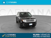 2017 Jeep Renegade suv Limited Sport Utility 4D Black Brentwood