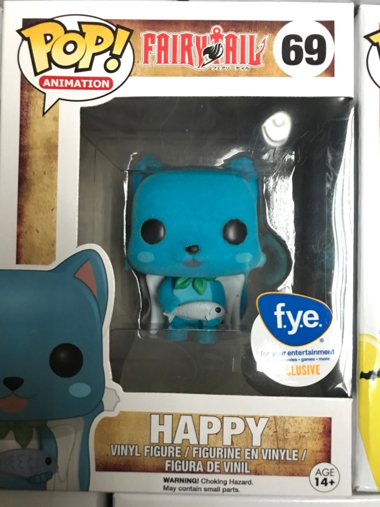 Pop animation Fairy Tail Happy vinyl figure package