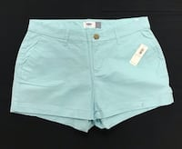 3 Old Navy - Ladies Shorts - Size 4 - New with tags - Light Turquoise - White - B&W Check New Hyde Park, 11042