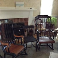 2 Rocking chairs  null