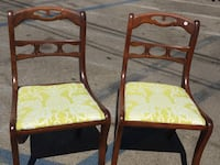 Two antique chairs new fabric Los Angeles, 91303