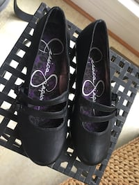 Girls size 2 Jessica Simpson black shoes Centreville, 20120