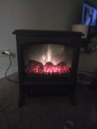 black electronic fireplace Gurnee, 60031