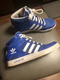 Adidas High Tops, Size 6