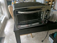 stainless steel and black toaster oven Falls Church, 22041