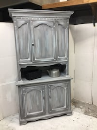 Hutch cabinet pantry
