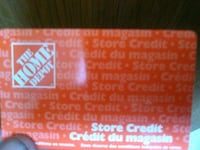 Home Depot gift card Victoria
