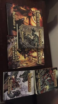 Pathfinder books