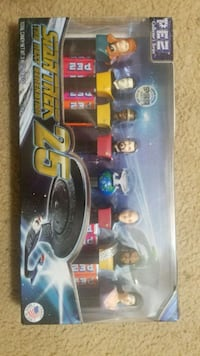 Star Trek TNG 25th Anniversary Pez Dispensers Fairfax, 22030