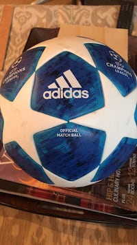 blue and white Adidas soccer ball Adamstown, 21710