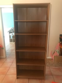 Bookshelf shelves wall unit 6'x2.5' Wellington, 33414