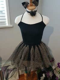 Leopard young girl tutu and accessories  Surrey, V3R 1G5