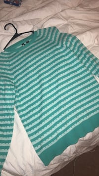 blue and white stripes sweater Enid, 73703