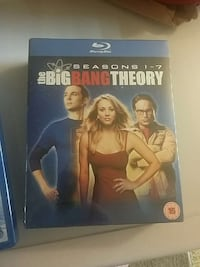 seasons 1-7 the big bang theory