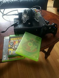 Xbox One console with controller and game cases Molalla, 97038