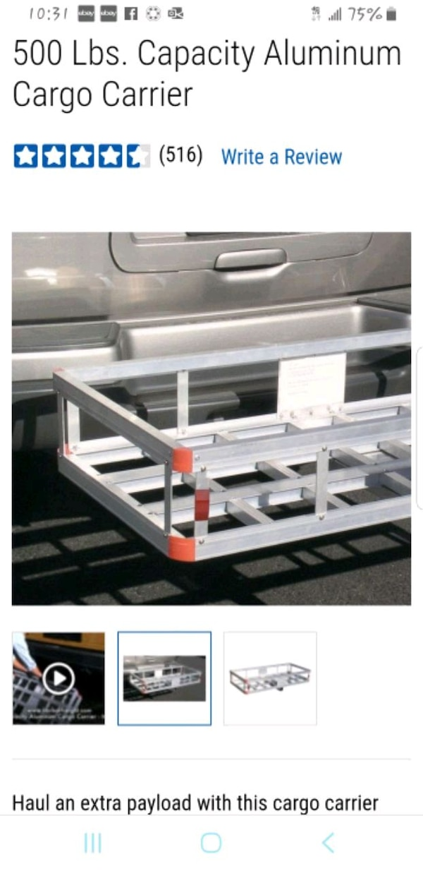 Trailer hitch rack