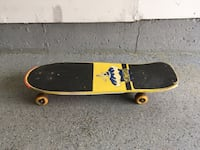 yellow and black skateboard deck Richmond Hill