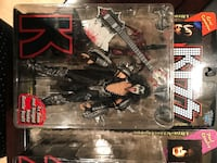 Kiss band character action figure with box