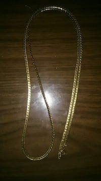 14k Gold Plated Box Chain