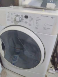 white front-load clothes dryer works excellent. Detroit, 48227