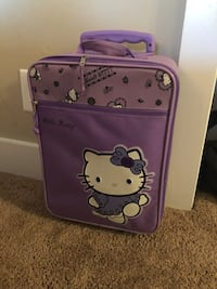 purple Hello Kitty luggage bag Gaithersburg, 20878
