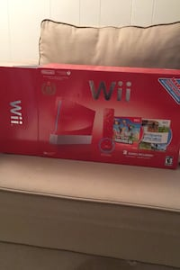 Limited Edition 25th Anniversary Red Wii (With extra controller)