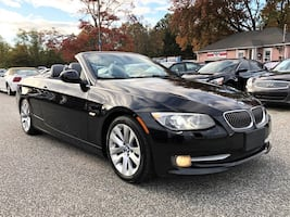 2013 BMW 3 Series Convertible! Only 65k miles! White Leather!