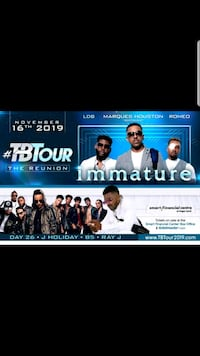 Immature Concert (#TBT Tour) Pearland