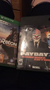 Payday 2, Ghost Recon wildlands Xbox one Youngstown, 44515
