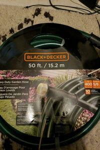 black and decker 50 ft heavy duty garden hose  Daly City, 94014