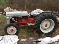 1952 Ford 8N converted 12 volt restored and painted, 5 ft brush hog, 6 ft blade Youngstown, 44503