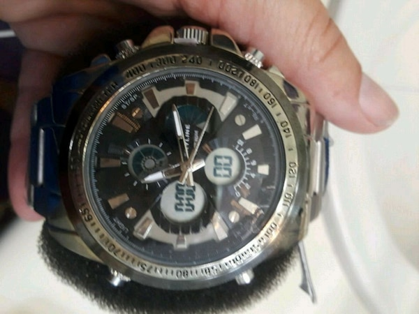 b710f29d4c69 Used Skyline water-resistant dual time watch for sale in Grayson - letgo