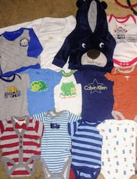 Newborn assorted clothes Akron