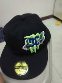 black and green fitted cap Warner Robins, 31093