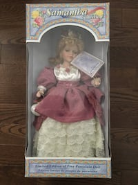 Samantha collection porcelain doll - BNIB Vaughan, L4H 3R4