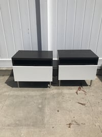 Side tables with drawers View Park, 90043