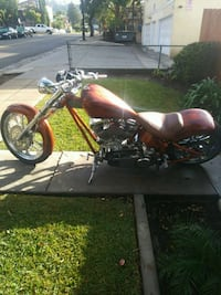 red and black cruiser motorcycle Los Angeles, 90032