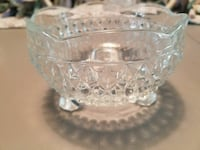 Footed cut glass bowl Wilmington, 28412