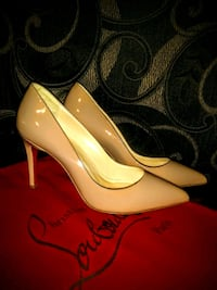 Christian Laboutin Nude Heels Vancouver, V5T 3J7