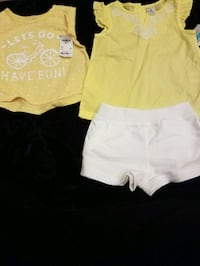 New Carters shortset 24m and oshkosh top 2T $15 firm Rockville