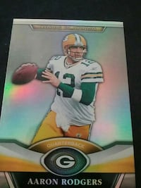 Green Bay Packers Aaron Rodgers trading card